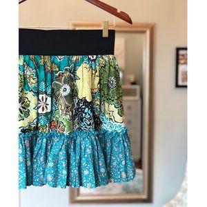 [Xhilaration] floral boho skirt #C10